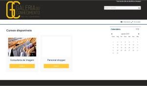 Customização Moodle Galeria do Conhecimento
